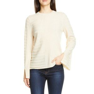 Equipment Emmaline Mixed Rib Sweater